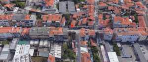 Predio com 2 andares no Porto, com 2 fra...