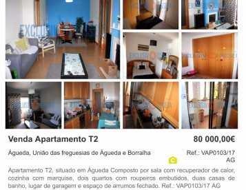 Apartamento T2 Águeda