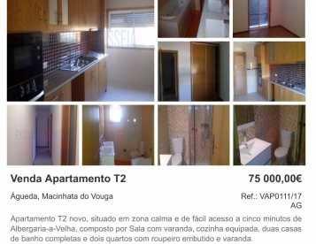 Apartamento T2 em Serém - Águeda