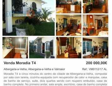 Moradia T4 em Albergaria-a-Velha