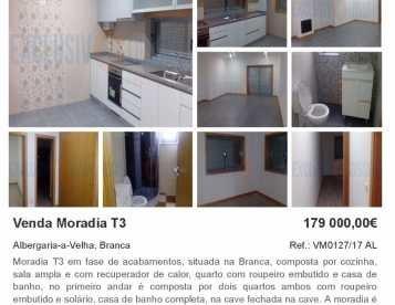 Moradia T3 na Branca - Albergaria-a-Velha