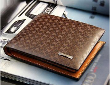 Moda Men's PU Leather Wallet Pocket Card Clutch ID Credit Bifold Purse - europromocoes.net