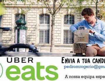 Uber Eats - Vem trabalhar para a nossa equipa