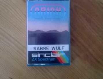 Jogo ZX Spectrum Sabre Wulf