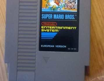 Nintendo Nes Super Mario
