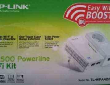 POWERLINE TP-LINK AV500 WIFI KIT