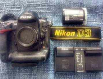 Nikon D3 (corpo) + 1 bateria extra por 1000,00 Euros