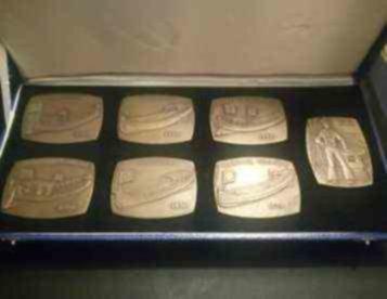 Coleção medalhas Galeota