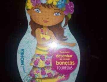 Desenhar as Minhas Bonecas - Polinésias