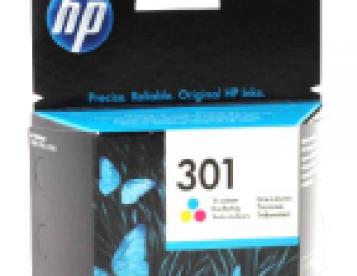 Tinteiro Original HP 301 Tricolor
