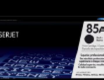 Tonner ORIGINAL HP 85A CE285A PRETO