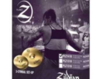 Set Pratos Zildjian Planet Z PLZ 14/18