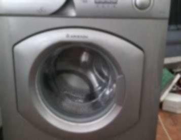 Máquina Lavar Roupa Ariston Cinzenta