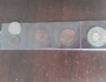 moedas coleção