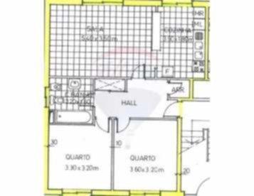 Santa Cruz Apartamento Mobilado, pronto a habitar (investimento)