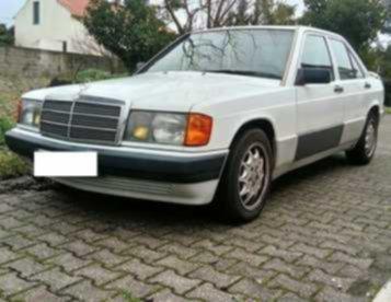Mercedes 190 GPL