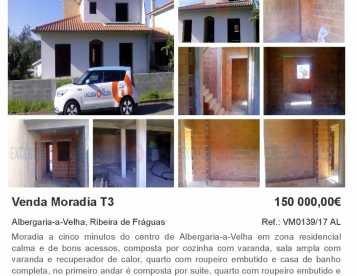 Moradia T3 Albergaria-a-Velha