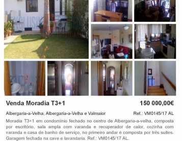 Moradia T3+1 Albergaria-a-Velha