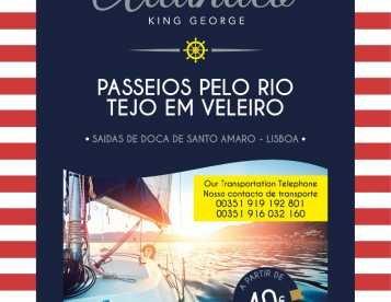 PASSEIOS DE VELEIRO DE LUXO NO RIO TEJO