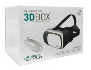 Oculos Realidade Virtual com comando