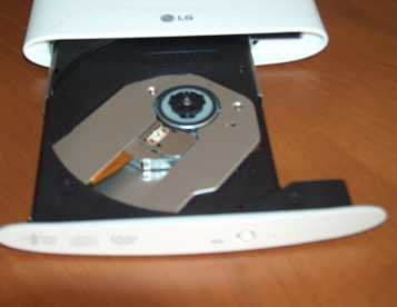 Gravador marca LG de CD/DVD para PC via USB - europromocoes.net