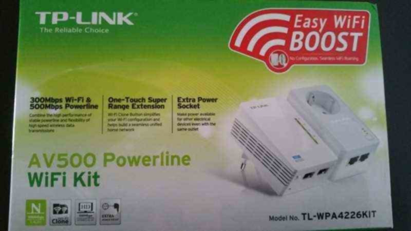 POWERLINE TP-LINK AV500 WIFI KIT
